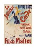 La Danseuse De Corde Giclée par Jules Chéret