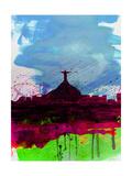 Rio Watercolor Skyline