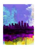 Louisville Watercolor Skyline