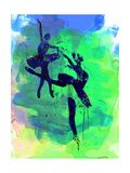 Two Ballerinas Watercolor 2