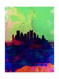 Pittsburgh Watercolor Skyline