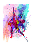 Romantic Ballet Watercolor 3