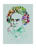 Beethoven Watercolor