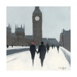 Big Ben  Red Beret And Snow
