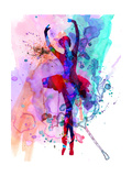 Ballerina's Dance Watercolor 3