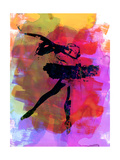 Black Ballerina Watercolor