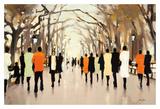 Poet's Walk Reproduction d'art par Lorraine Christie