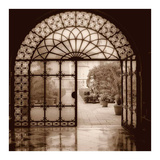 Courtyard in Venezia Reproduction d'art par Alan Blaustein