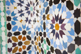 Colourful Mosaic at Medersa Ben Youssef