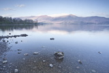 The Still Waters of Derwent Water in the Lake District National Park
