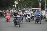 Le Loi Boulevard  Ho Chi Minh City (Saigon)  Vietnam  Indochina  Southeast Asia  Asia