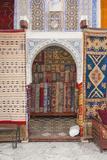 Carpet Shop in Marrakech Souks  Morocco  North Africa  Africa