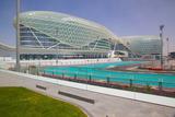 Viceroy Hotel and Formula 1 Racetrack  Yas Island  Abu Dhabi  United Arab Emirates  Middle East