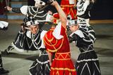 Dancers Doing the Traditional Moreska Sword Dance  in Korcula  Dalmatian Coast  Croatia  Europe