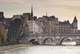 Pont Neuf and the Ile De La Cite in Paris  France  Europe