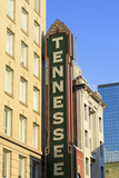 Tennessee Theater on Gay Street  Knoxville  Tennessee  United States of America  North America