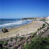 La Grande Plage  Biarritz  Aquitaine  France  Europe