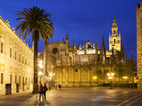 Seville Cathedral (Catedral) and the Giralda at Night