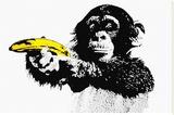 Monkey Banana Tableau sur toile