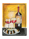 Wine Notes II Giclée par Jennifer Garant