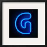 Neon Sign Letter G