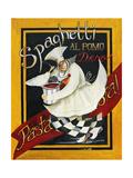 Pasta Pasta Reproduction d'art par Jennifer Garant