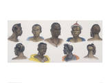 Black People of Different Nations