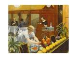 Tables pour dames Giclée par Edward Hopper