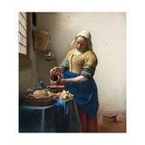 The Milkmaid Giclée par Johannes Vermeer