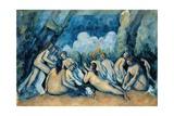 Baignade à Asnières Giclée par Paul Cézanne