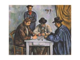 The Card Players Giclée par Paul Cézanne