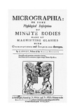 Title Page from Micrographia