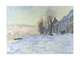 Lavacourt under Snow