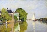 Houses on the Achterzaan Giclée par Claude Monet
