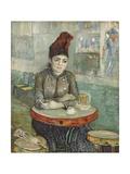In the Cafe: Agostina Segatori in Le Tambourin