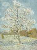 The Pink Peach Tree Giclée par Vincent Van Gogh
