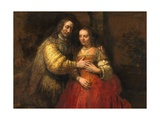 Portrait of a Couple as Figures from the Old Testament  known as 'The Jewish Bride'