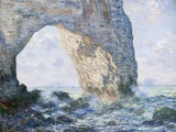 The Manneporte (Etretat) Giclée par Claude Monet