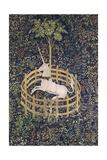 The Unicorn in Captivity Tapestry Giclée