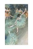 Swaying Dancer (Dancer in Green) Giclée par Edgar Degas