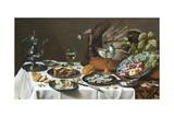 Still Life with Turkey Pie Giclée par Pieter Claesz