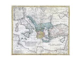 Map of the Ancient Greek World Giclée