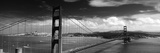 Bridge over a River  Golden Gate Bridge  San Francisco  California  USA