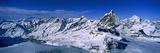 Swiss Alps from Klein Matterhorn  Switzerland