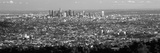 Aerial View of a Cityscape  Los Angeles  California  USA 2010