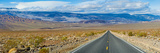 Road Passing Through a Desert  Death Valley  Death Valley National Park  California  USA