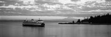 Ferry in the Sea  Bainbridge Island  Seattle  Washington State  USA
