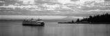 Ferry in the Sea  Bainbridge Island  Seattle  Washington State  USA