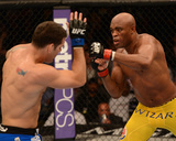 UFC 162: Jul 6  2013 - Anderson Silva vs Chris Weidman