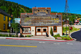 Facade of the High West Distillery Building  Park City  Utah  USA